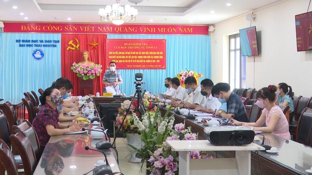 Kiểm tra việc thực hiện nghị quyết đại hội Đảng các cấp