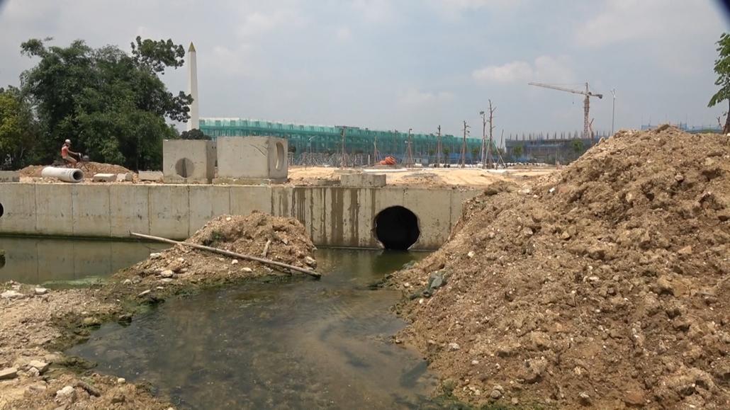 Nhiều công trình vi phạm trật tự xây dựng trên dòng suối Tài