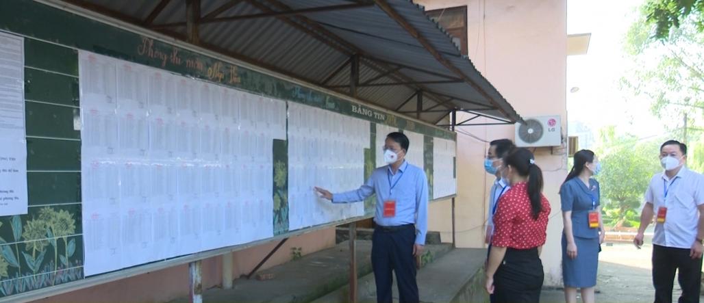 Lãnh đạo tỉnh kiểm tra công tác thi tốt nghiệp THPT năm 2021