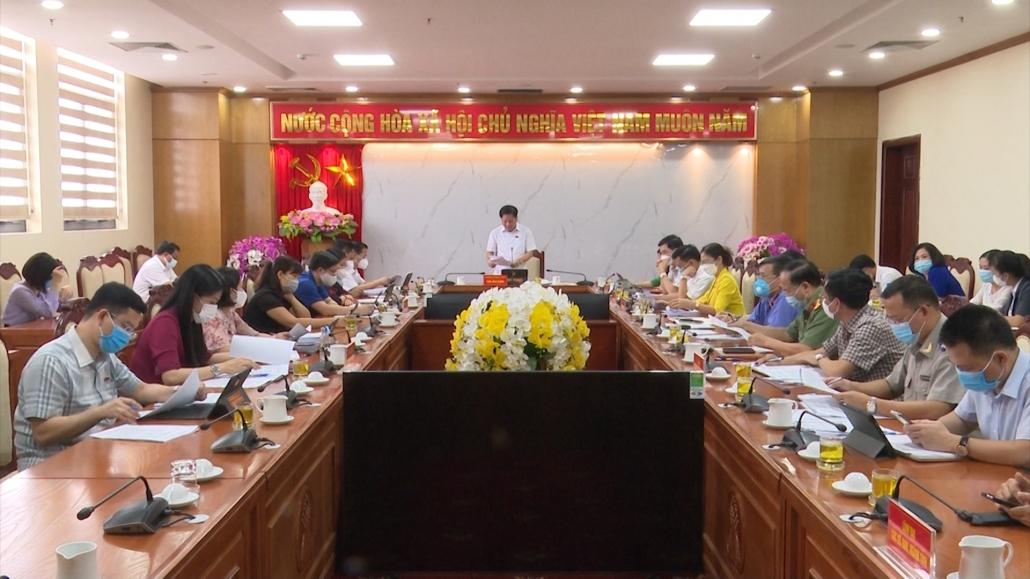 Thẩm tra các nội dung trình tại Kỳ họp thứ hai, HĐND tỉnh khóa XIV