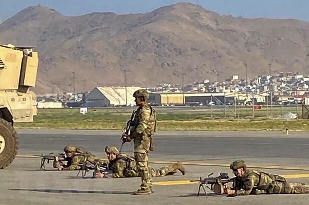 Binh sỹ Mỹ tiêu diệt 2 đối tượng có vũ trang ở sân bay Kabul