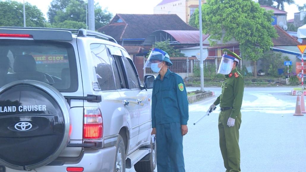 Lực lượng công an tích cực tham gia phòng, chống dịch COVID-19