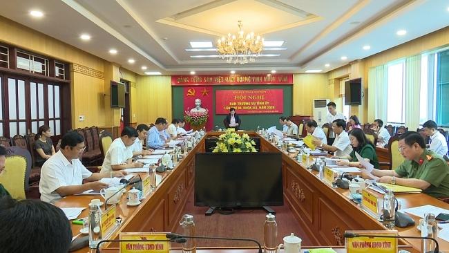 Khẩn trương hoàn thiện các nội dung chuẩn bị Đại hội đại biểu Đảng bộ tỉnh Thái Nguyên lần thứ XX, nhiệm kỳ 2020-2025