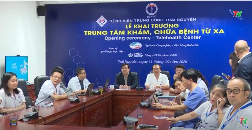 Thái Nguyên khởi động dự án khám, chữa bệnh từ xa