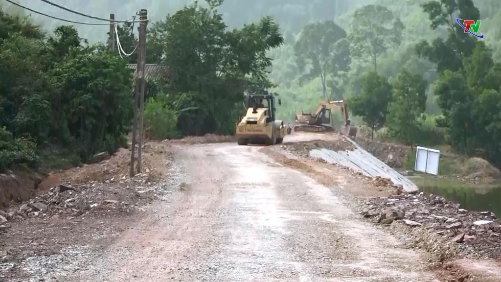 Cần sớm hoàn thành đường liên xã Phúc Tân - Vạn Thọ