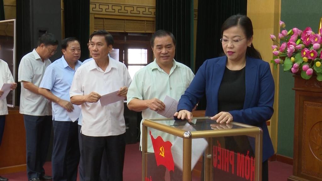 Thái Nguyên: Thực hiện quy trình giới thiệu tái cử nhân sự