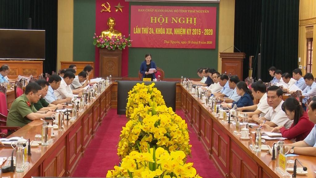Đẩy mạnh công tác chuẩn bị Đại hội Đại biểu Đảng bộ tỉnh Thái Nguyên lần thứ XX