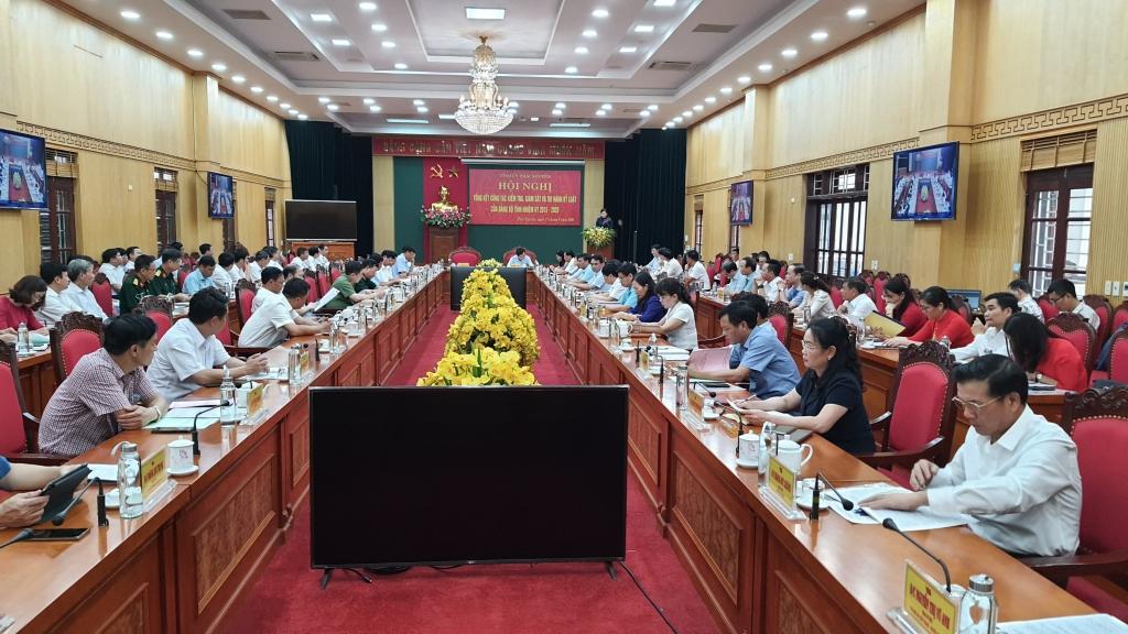Thái Nguyên: Phát huy vai trò của công tác kiểm tra, giám sát và thi hành kỷ luật Đảng