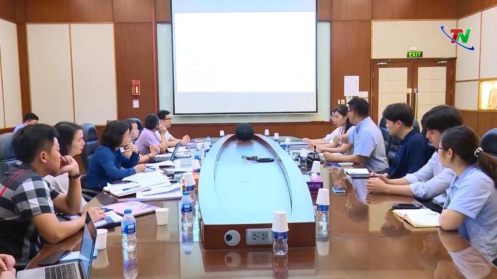 Đoàn công tác của Văn phòng Chính phủ khảo sát ở các doanh nghiệp công nghệ cao tại Thái Nguyên