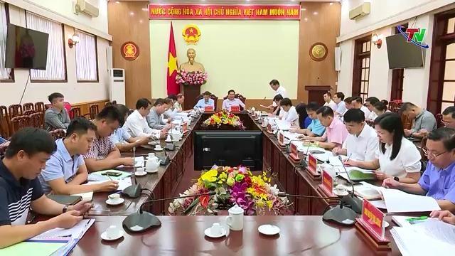 Đoàn kiểm tra Bộ Xây dựng làm việc tại Thái Nguyên