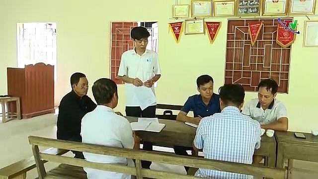 Xoá ghép, bỏ yếu ở Đảng bộ xã Phú Đô, huyện Phú Lương