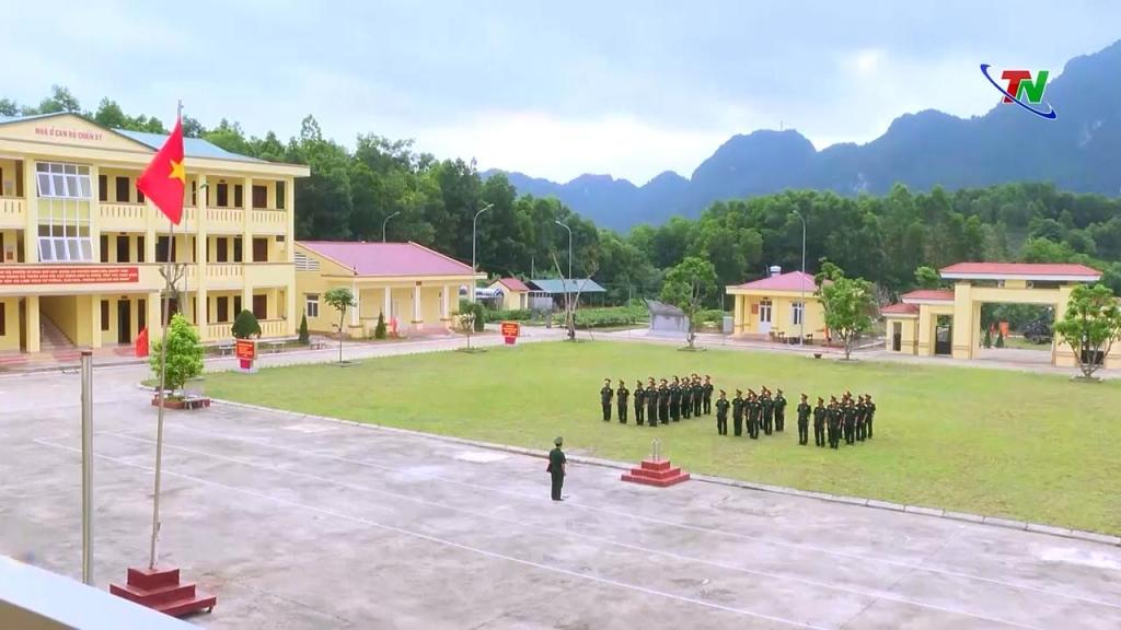 Ban CHQS huyện Định Hóa: Xây dựng doanh trại chính quy sáng, xanh, sạch đẹp