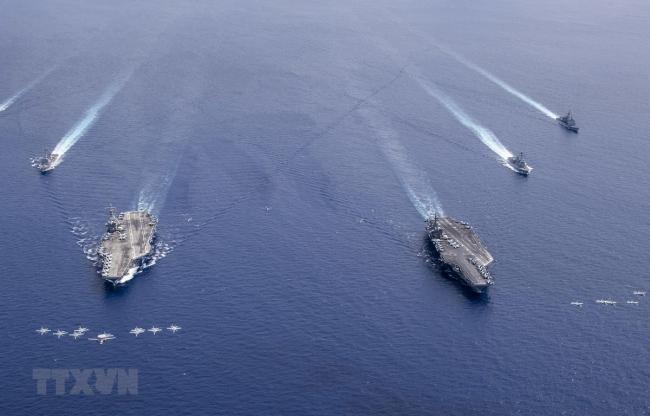 Bộ Tứ tái khẳng định cam kết về khu vực Ấn Độ Dương-Thái Bình Dương