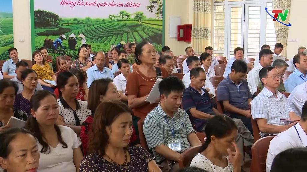 Đoàn đại biểu Quốc hội tỉnh tiếp xúc cử tri trước kỳ họp thứ mười, Quốc hội khóa XIV