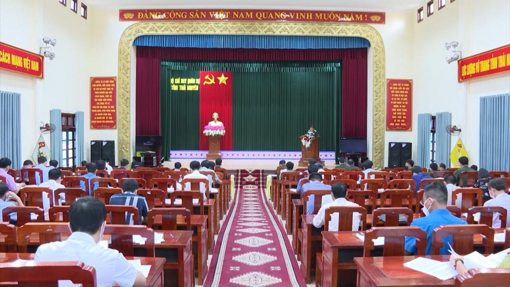 Khớp tình huống diễn tập huyện Phú Bình và Phú Lương