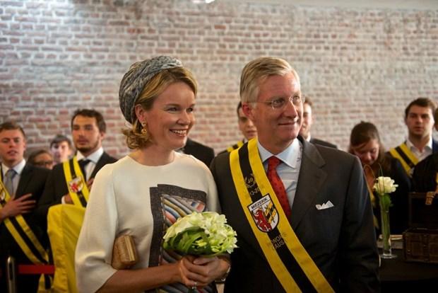 Nhà vua, Hoàng hậu Bỉ phải cách ly do Hoàng gia có ca nhiễm COVID-19