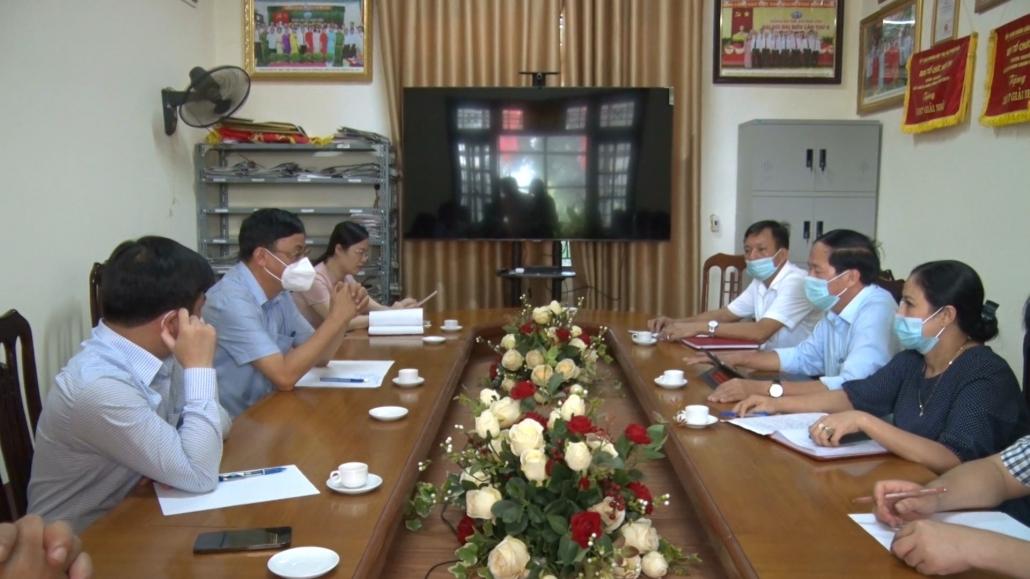 Lãnh đạo tỉnh kiểm tra công tác phòng, chống dịch COVID-19 tại TX Phổ Yên