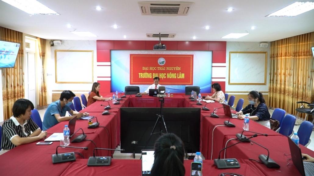 Lễ nhập học đặc biệt của sinh viên Chương trình tiên tiến, Đại học Nông Lâm Thái Nguyên