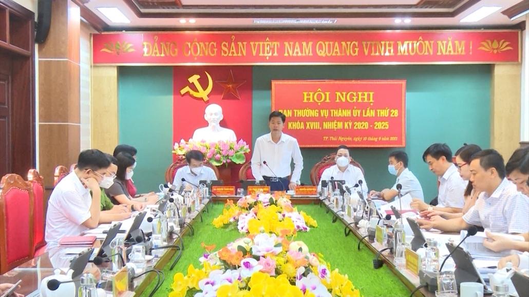 Đóng góp ý kiến vào dự thảo báo cáo và phát triển TP Thái Nguyên