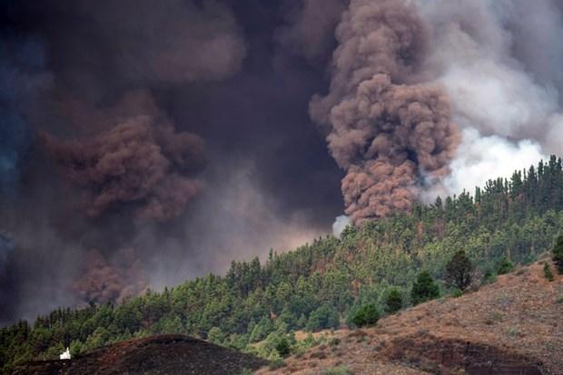 Thêm hàng nghìn người phải sơ tán do núi lửa phun trào tại Tây Ban Nha