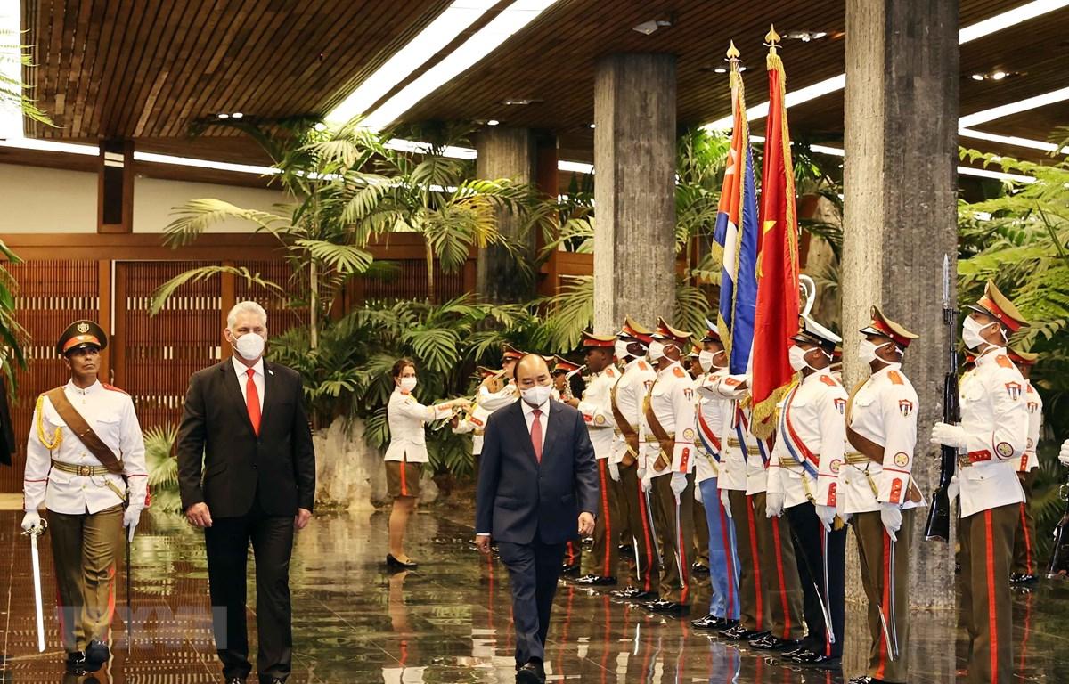 Việt Nam và Cuba nhất trí thắt chặt và làm sâu sắc mối quan hệ anh em