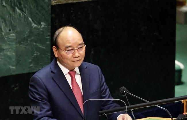 Bài phát biểu của Chủ tịch nước Nguyễn Xuân Phúc tại Đại hội đồng LHQ