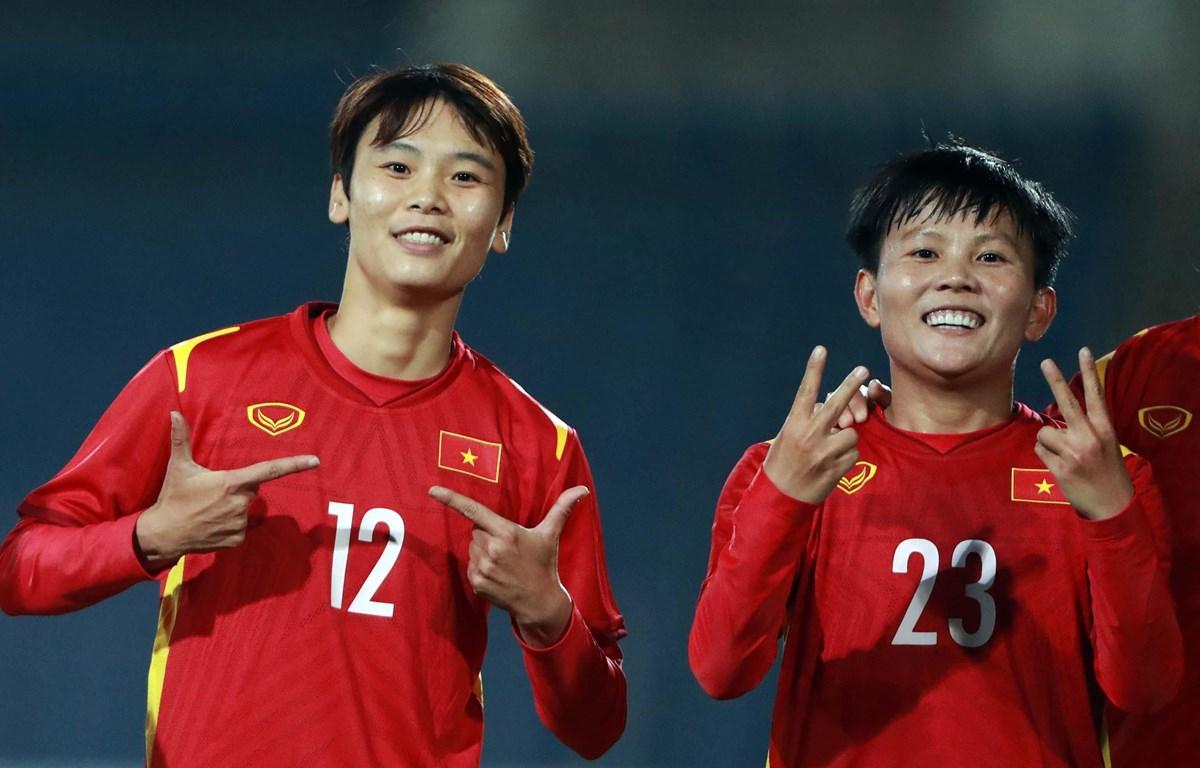 Tuyển nữ Việt Nam nhận thưởng 500 triệu nhờ giành vé dự Asian Cup 2022