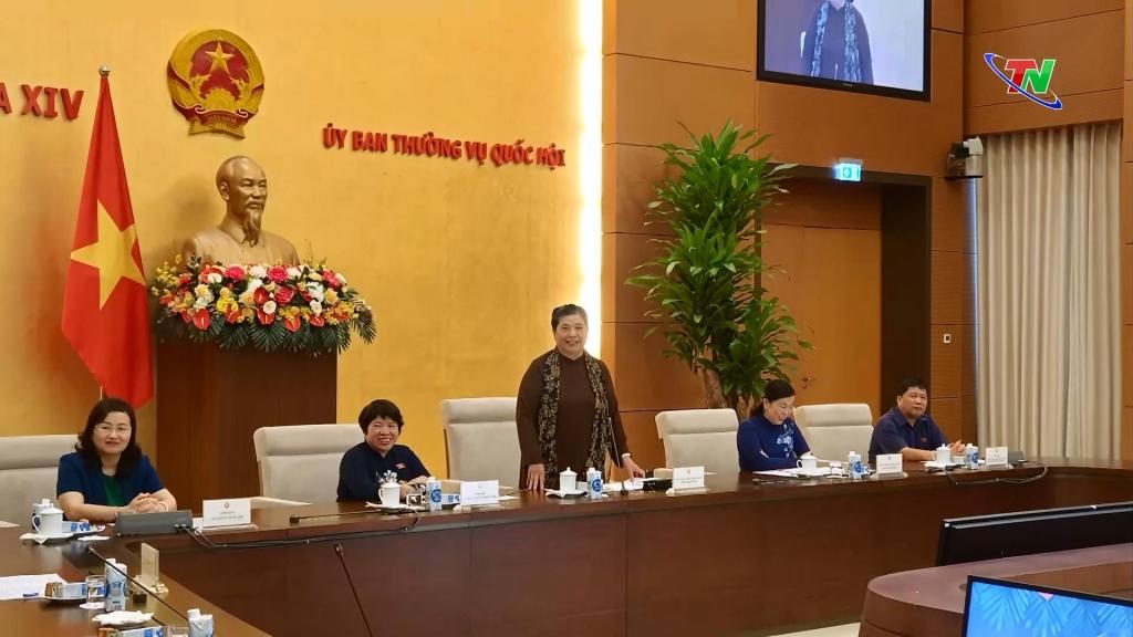Phó Chủ tịch Thường trực Quốc hội gặp mặt trẻ em có hoàn cảnh đặc biệt khó khăn tỉnh Thái Nguyên