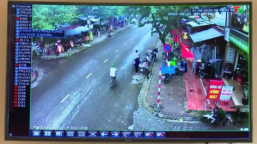 Camera an ninh góp phần nâng cao ý thức người tham gia giao thông