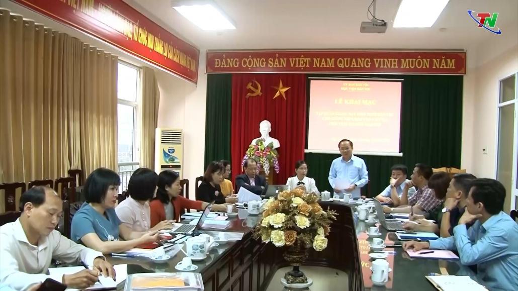 Thái Nguyên: Bồi dưỡng kiến thức dân tộc cho giảng viên, báo cáo viên