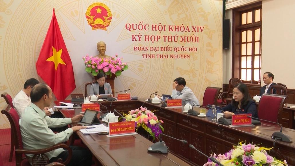 Quốc hội thảo luận về dự thảo Luật xử lý vi phạm hành chính và luật thỏa thuận quốc tế