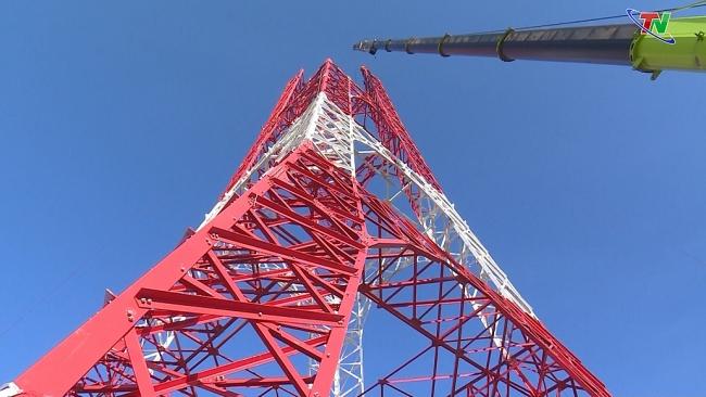 Lãnh đạo tỉnh kiểm tra tiến độ xây dựng công trình tháp Anten truyền hình Thái Nguyên