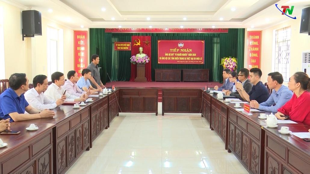 Thái Nguyên: Tiếp tục ủng hộ đồng bào các tỉnh miền Trung