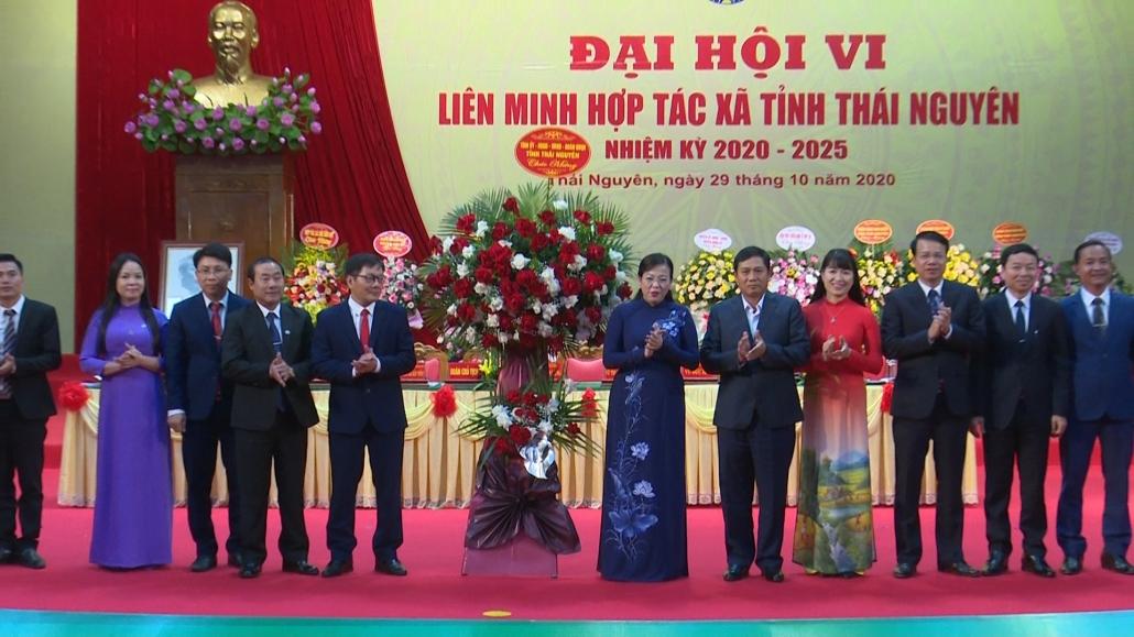 Đại hội đại biểu Liên minh Hợp tác xã tỉnh Thái Nguyên lần thứ VI, nhiệm kỳ 2020-2025