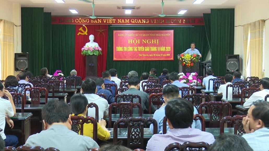 Thông tin công tác tuyên giáo tháng 10/2020