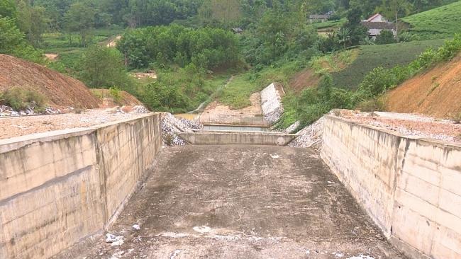 Thái Nguyên đẩy nhanh tiến độ công trình hồ chứa nước Vân Hán