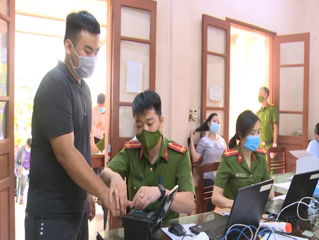 Công an tỉnh Thái Nguyên đẩy nhanh tiến độ hoàn thành chỉ tiêu cấp căn cước công dân