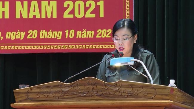 Khai mạc diễn tập khu vực phòng thủ huyện Phú Bình năm 2021