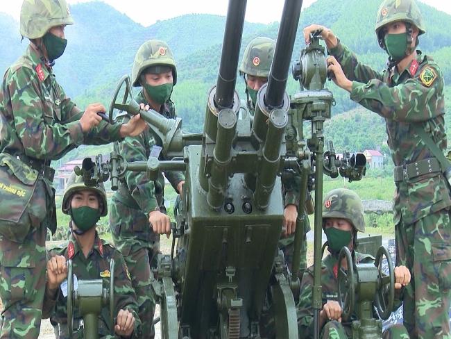 Diễn tập chiến thuật, hội thi bắn đạn thật lực lượng phòng không lục quân, phòng không kiêm nhiệm