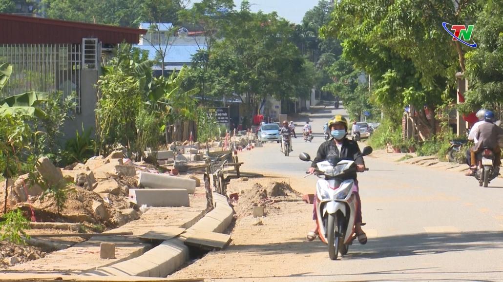 Định Hóa: 6 tỷ đồng sửa chữa, nâng cấp hệ thống rãnh thoát nước chống ngập úng thị trấn Chợ Chu