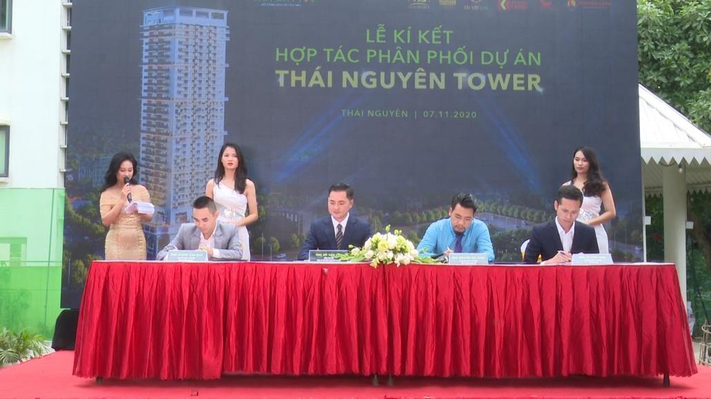 Lễ ký kết hợp tác và ra quân dự án Thái Nguyên Tower