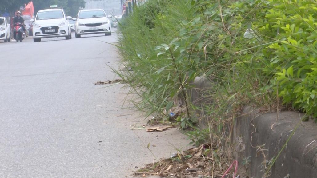 Mất mỹ quan đô thị đường Bắc Sơn, thành phố Thái Nguyên
