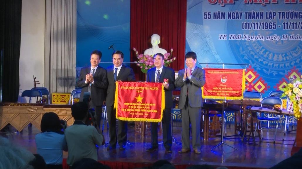 Trường Cao đẳng Văn hóa nghệ thuật Việt Bắc kỷ niệm 55 năm ngày thành lập