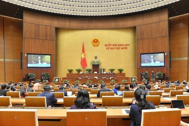 Tiếp tục chương trình kỳ họp thứ mười, Quốc hội khóa XIV