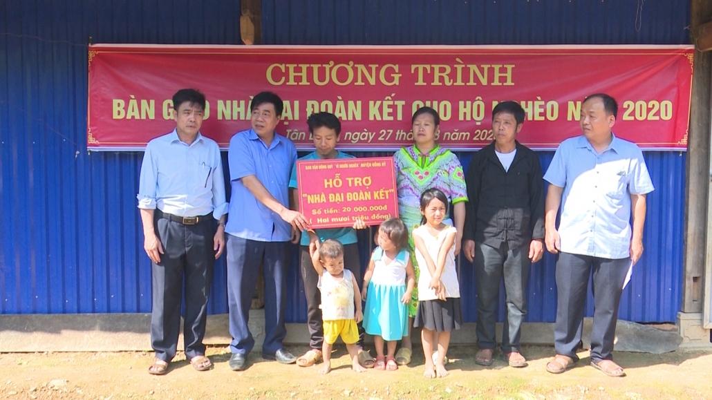Đồng Hỷ hỗ trợ xây nhà cho các đối tượng hộ nghèo