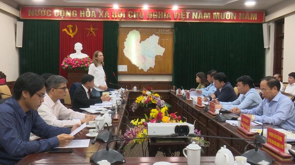 Lãnh đạo tỉnh tiếp và làm việc với đoàn công tác của Ủy ban Dân tộc và Ngân hàng ADB