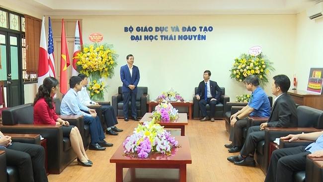 Lãnh đạo tỉnh chúc mừng Đại học Thái Nguyên nhân ngày 20/11