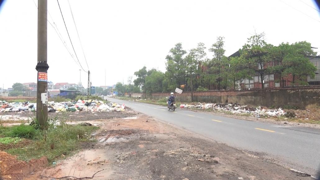 Ô nhiễm môi trường từ bãi tập kết rác thải