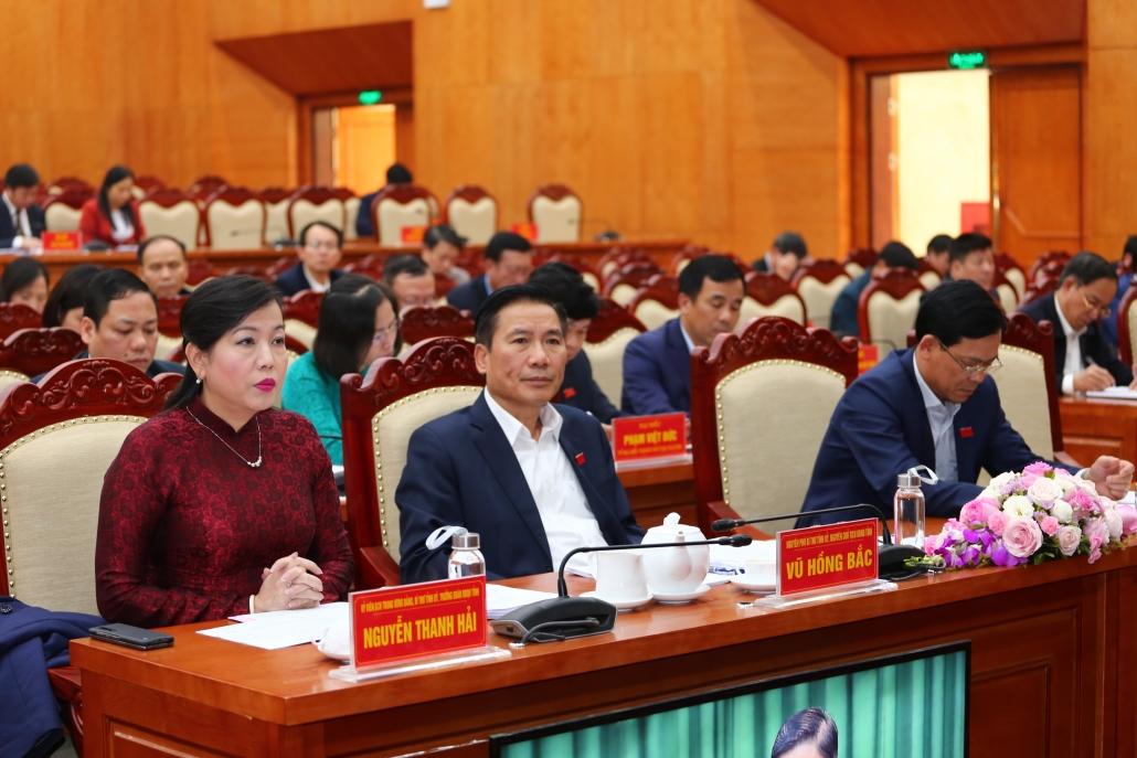 Bế mạc kỳ họp thứ 12, HĐND tỉnh Thái Nguyên khoá XIII, nhiệm kỳ 2016-2020