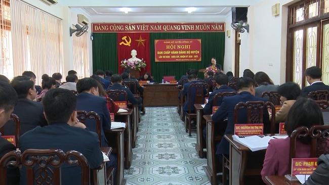 Hội nghị Ban Chấp hành Đảng bộ huyện Đồng Hỷ lần thứ V, khóa XXV